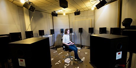 Listening room (Photo: Joachim Rode)