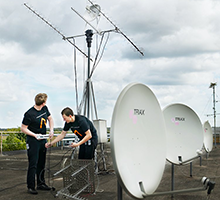 Antennas (Photo: DTU Elektro)