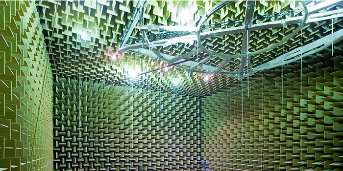 Anechoic Chamber (Photo: Torben Nielsen)