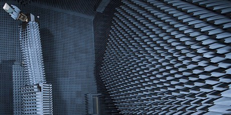 The radio anechoic chamber (Photo: Thorkild Amdi Christensen)