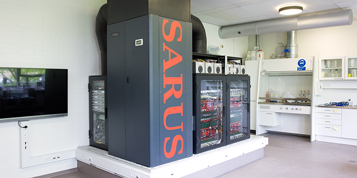 The experimental ultrasound system SARUS (Photo: Torben Nielsen)