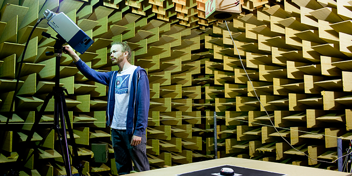 Anechoic Chamber (Photo: Torbn Nielsen)