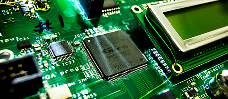 Printed circuit board (Photo: Torben Nielsen)