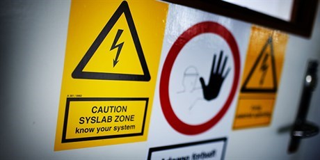 SYSLAB signs (Photo: Torben Nielsen)