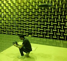 Research in anechoic chamber (Photo: Acoustic Technology)