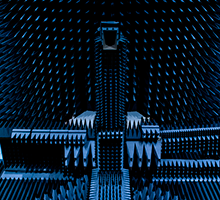 DTU-ESA facility/Radio Anechoic Chamber (Photo: Alastair Philip Wiper)